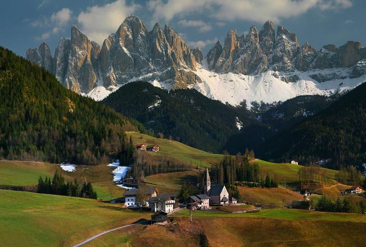 Italian Village - Travel Poster Anyone?: Alps Italy, Buckets Lists, Favorite Places, 20 Charms, Beautiful Places, Travel, Charms Places, Dreams Destinations, Dolomit Alpsitali