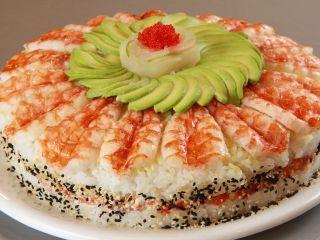 Sushi cake                                                       …