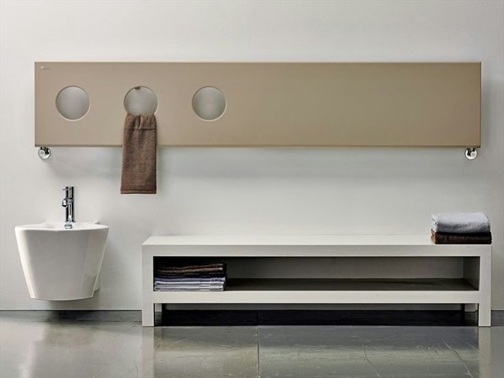 Aquecedor de toalhas TREO by ANTRAX IT | design Andrea Crosetta