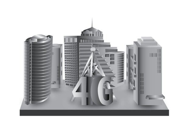 Miniatur BTS 4G #3DVector
