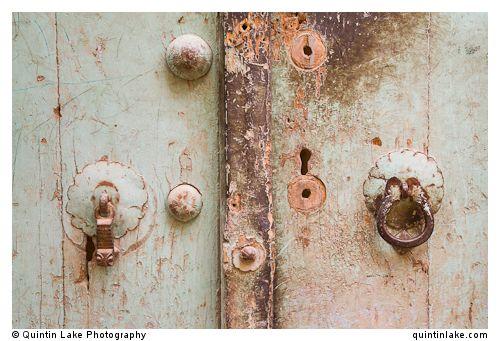 His & Hers Door Knockers, Yazd, Iran