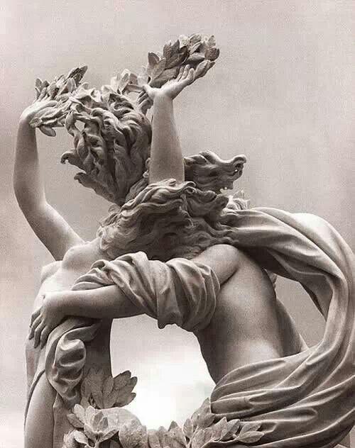 Gianlorenzo Bernini, Apollo Dafne, 1622-25, marmur, wys. 243 cm, Galleria Borghese, Rzym