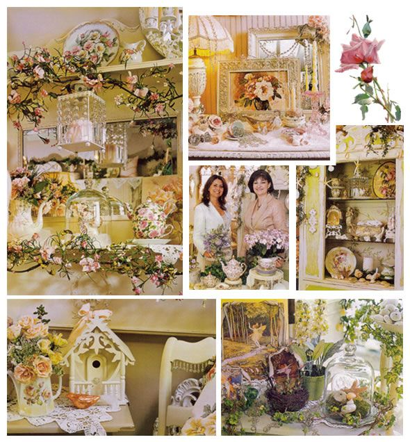 Country Home Decor Magazines: 154 Best Victorian Shabby Chic Images On Pinterest
