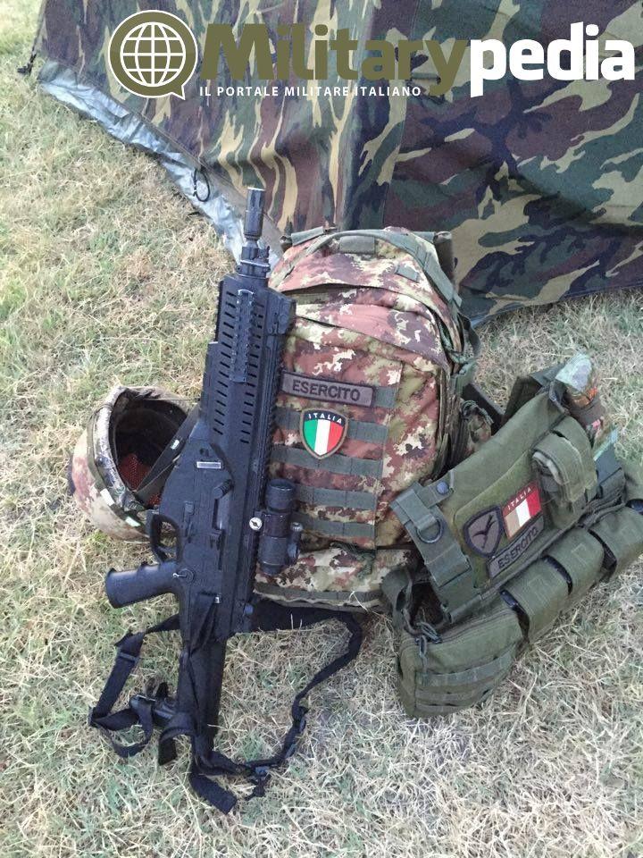 ARX 160A1 in dotazione all'Esercito Italiano. Foto di E. Donati.