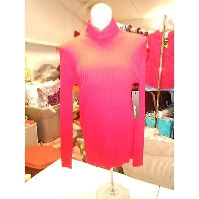 Women's Turtleneck Sweater, Red, Medium Windridge Cheryl Nash
