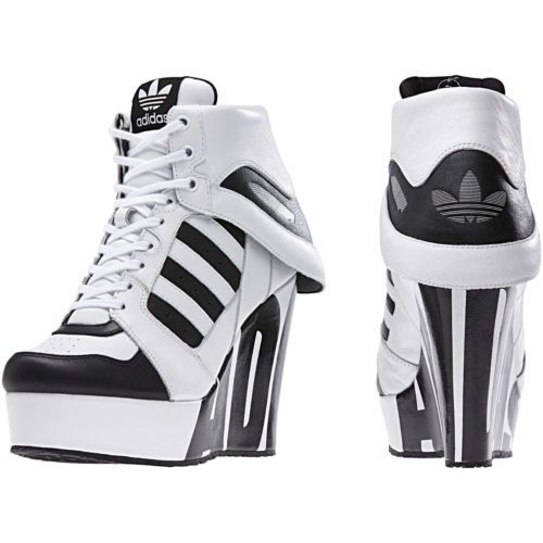 adidas originals jeremy scott streetball platform wedge trainers shoes 4 5 6 7 8 ebay. Black Bedroom Furniture Sets. Home Design Ideas