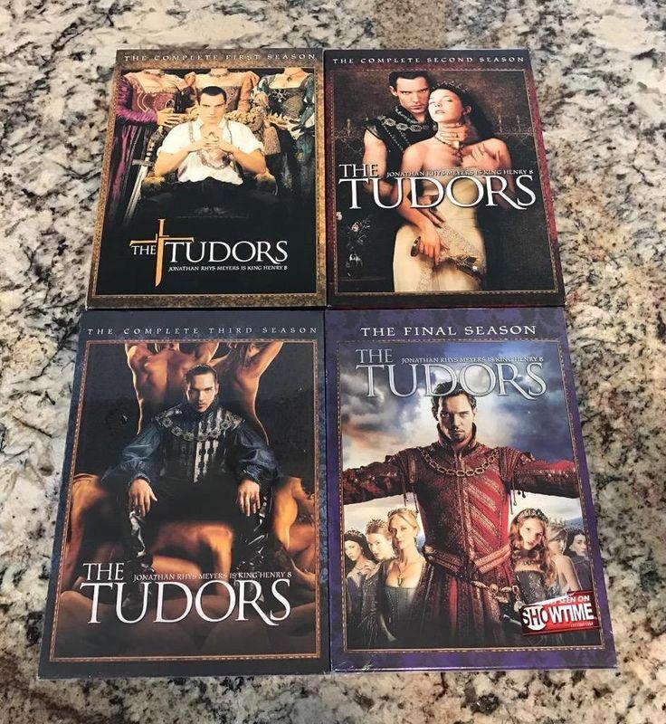 The Tudors Seasons 1, 2, 3, 4 - Complete Series Jeremy Northam King Henry 8 NEW
