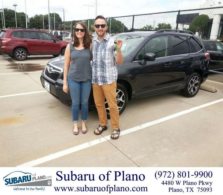 "https://flic.kr/p/tWms7A | Congratulations to Zachary and Jessica Moore on your #Subaru #Forester from Lou Colvin at Subaru of Plano! #NewCar | <a href=""http://www.subaruofplano.com/?utm_source=Flickr&utm_medium=Dmaxx&utm_campaign=DeliveryMaxx"" rel=""nofollow"">www.subaruofplano.com/?utm_source=Flickr&utm_medium=D...</a>"