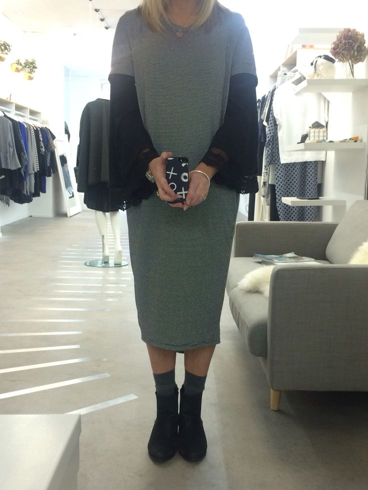 New Cocoon Dress layering style