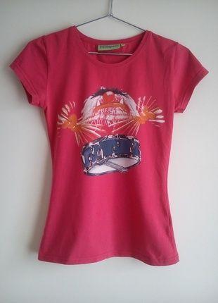 Kup mój przedmiot na #vintedpl http://www.vinted.pl/damska-odziez/koszulki-z-krotkim-rekawem-t-shirty/9309204-t-shirt-muppets-czerwony-rozmiar-m