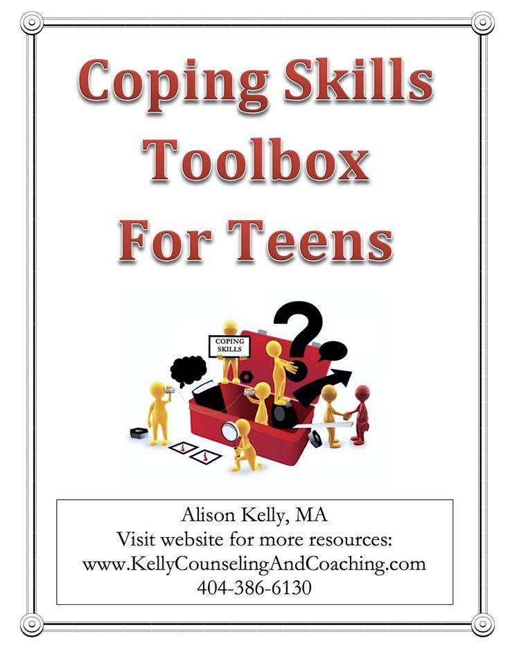 37 best Teen Coping Skills images on Pinterest | Personal ...