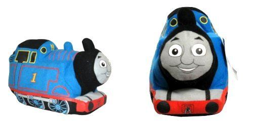 """Thomas and Friends ~ Thomas Plush Cuddle Pillow Pal for Bedding by Thomas & Friends. $19.20. Licensed Products. New in Package. Looking for a fun addition to your little train engineer's bedroom decor? This Thomas and Friends 14"""" Plush will coordinate with Thomas the Tank Engine kids bedding for a dynamic style. A plush design lets this railway character blend in with other Thomas the Train toys and stuffed animals. Add Percy and James to the mix for a fantastic team of locomoti..."""