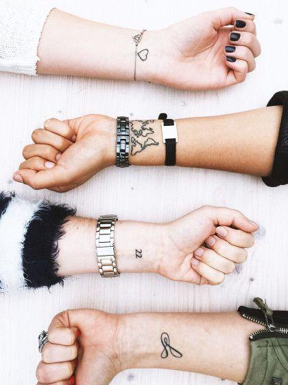 Das sind die coolsten Vorlagen für kleine Tattoos