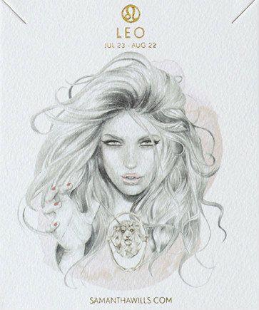 leo ▵ kelly smith (illustration) samantha wills (jewelry design)