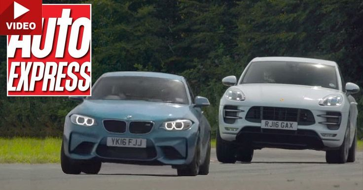 Porsche Macan Turbo Challenges The Mighty BMW M2 On Track