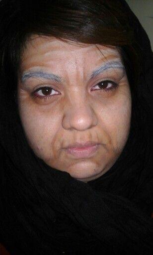 Makeup anciana