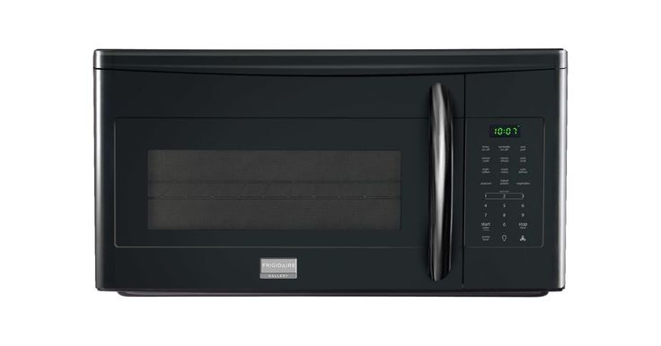 Frigidaire FGMV175Q 30 Inch 1.7 Cu. Ft. 1000 Watt Over-the-Range Microwave Oven Black Microwave Ovens Microwave Over-the-Range