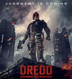 Judge Dredd 3D Blu Ray (2013)