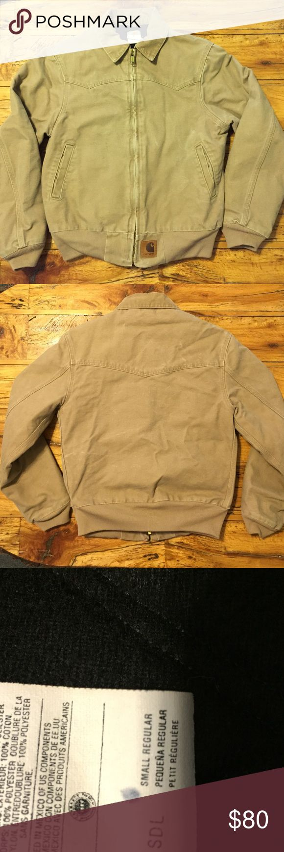 🌽FLASH SALE: Carhartt Jacket (🌽FLASH SALE: was previously listed at $45!) Basically like new. Super warm. No tears or stains. Nonsmoking home. Feel free to make an offer. This jacket can withstand anything. Carhartt Jackets & Coats Utility Jackets