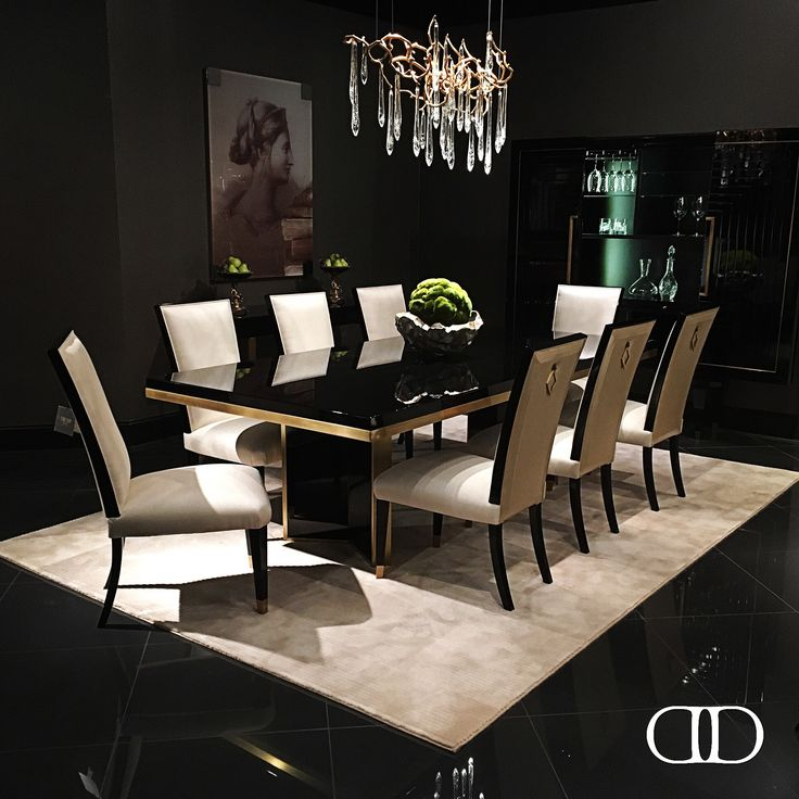 Charming Dining: Doryau0027s M.3006 Chicago Dining Table, I.3002 Diamond Side