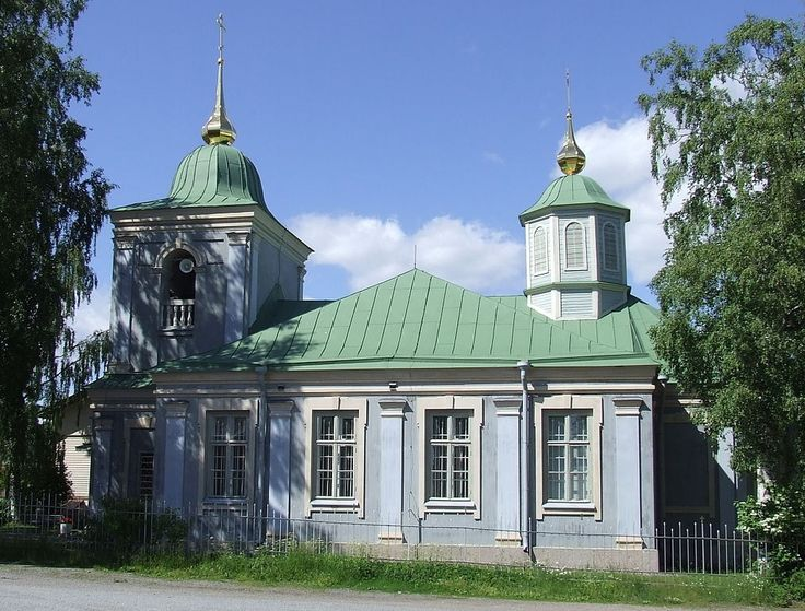 The oldest Orthodox church in Finland is the Virgin Mary Church in Lappeenranta from 1782 - 1785.