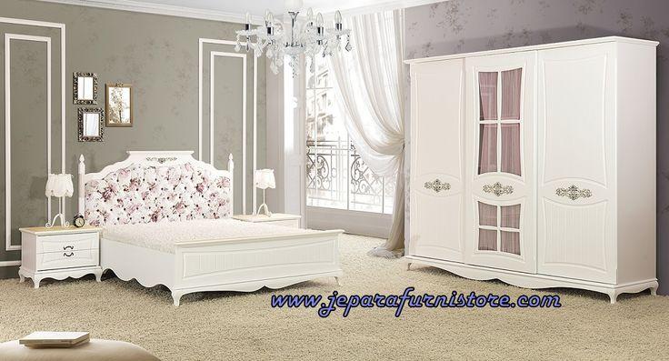 Jual Set Kamar Tidur Elegan Putih, Aneka Model Desain Set Kamar Tidur Elegan, Gambar Foto Set Kamar Tidur Elegan, Harga Set Kamar Tidur Elegan Terbaru