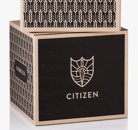 Citizen Beer packaging and identity created by Monday Design.