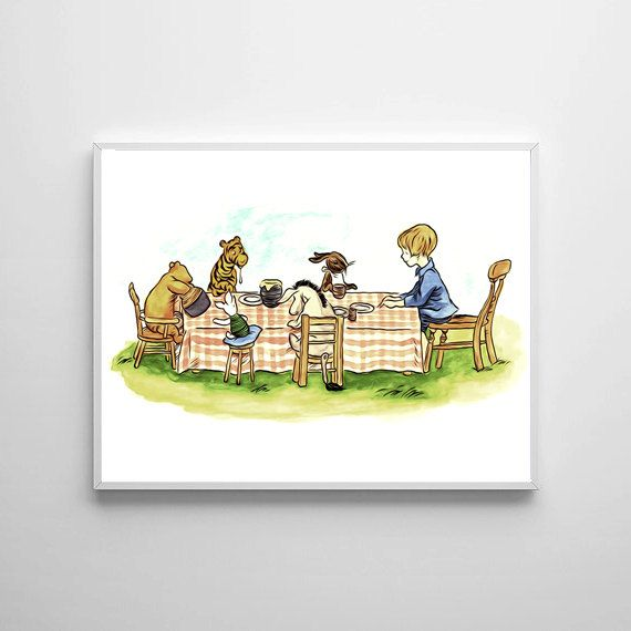 Winnie The Pooh Traditional Artwork 4 - Buy 2 Get 1 FREE by ShamanAlternative on Etsy