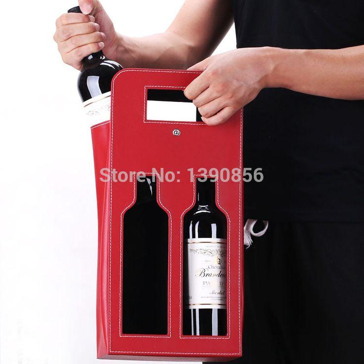 Купить товарГорный высокое качество две бутылки с сумкой коробки пакета кожа вина кенгуру кожа коробка вина в категории Упаковочные пакетына AliExpress.            10 шт./лот водонепроницаемый бумаги вина Подарочные пакеты/рекламные Cuto