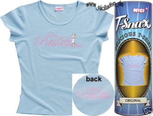 NICI T Shirt Blau GR M 40 42 Little Pink Princess Prinzessin 08 Geschenk Neu | eBay