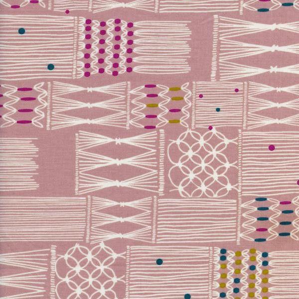 Macrame - Wall Hanging in Blush - Rashida Coleman-Hale for Cotton + Steel - 1929-2