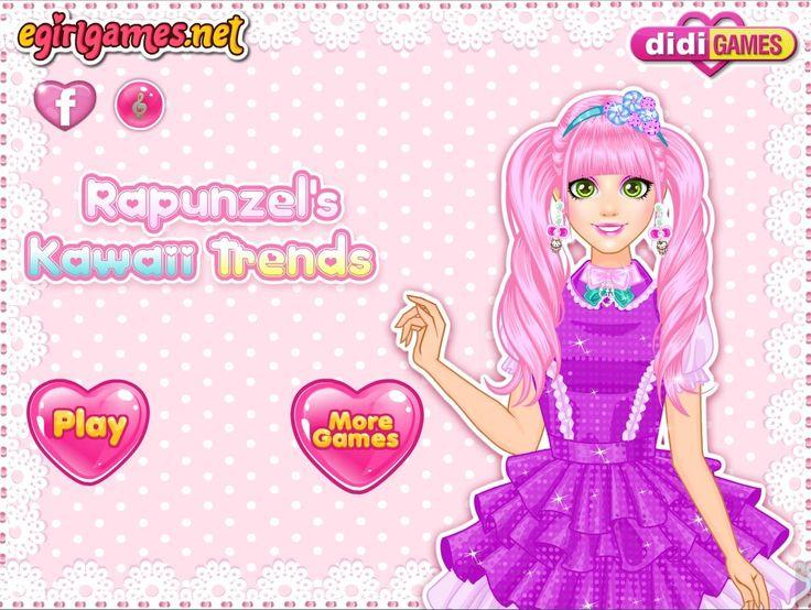 Czas ubrać Roszpunkę na wzór japońskich nastolatek, które kochają róż i masę dodatków na sobie! http://www.ubieranki.eu/ubieranki/10008/roszpunka-w-stylu-kawaii.html