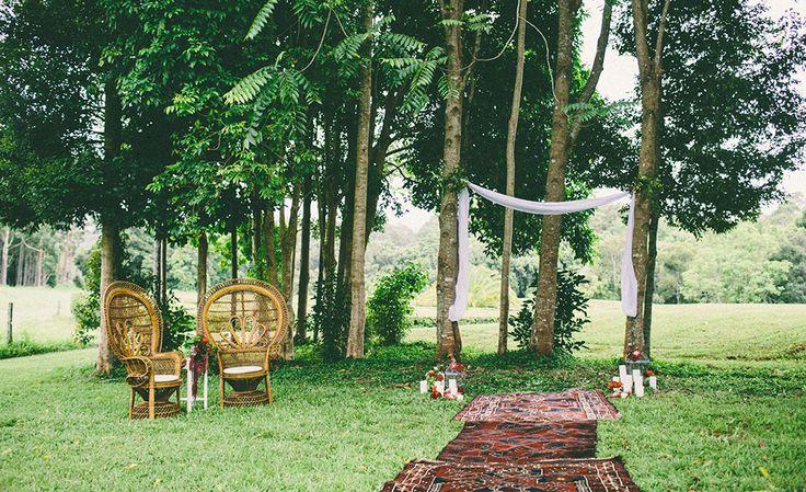 WHIMSY FARM // Byron Bay Region, NSW // via #WedShed http://www.wedshed.com.au/wedding_venues/whimsy-farm/