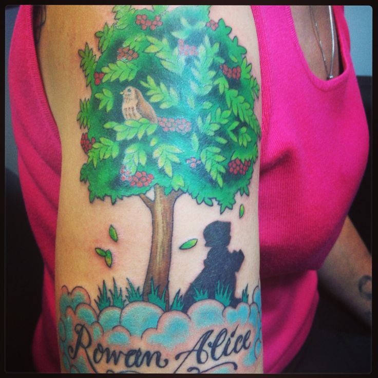 1000 images about rowan tree on pinterest for Rowan tree tattoo