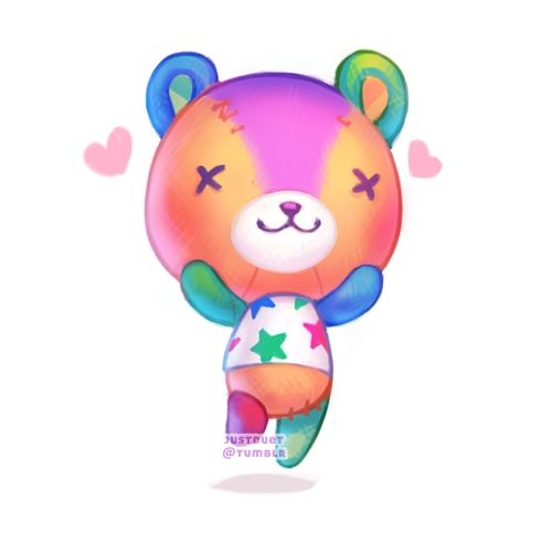 Stitches from Animal Crossing is my favorite villager!  (same as Bluebear - both my favorites!)