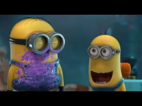▶ Minions funny videos - Monster in Mailroom - YouTube. This is so cute! And hilarious!