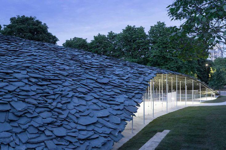 Serpentine Pavilion by Junya Ishigami – Parametric…