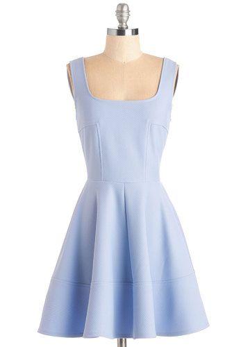 Met with Splendor Dress in Periwinkle   Mod Retro Vintage Dresses   ModCloth.com