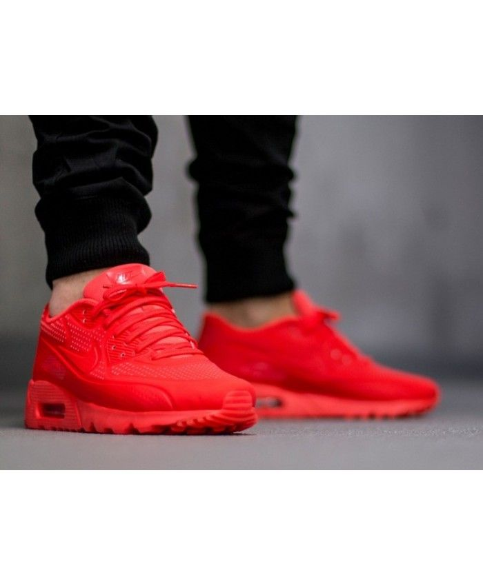 the latest bdcf1 091c5 Nike Air Max 90 Ultra Moire Whole Red Shoes Sale