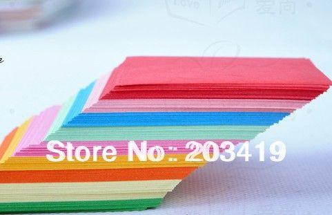 7.5*7.5 см doulbe цвет лица бумага для Оригами складной кран альбом ремесло Панч DIY подарок декор игрушка для Детей и т. д.