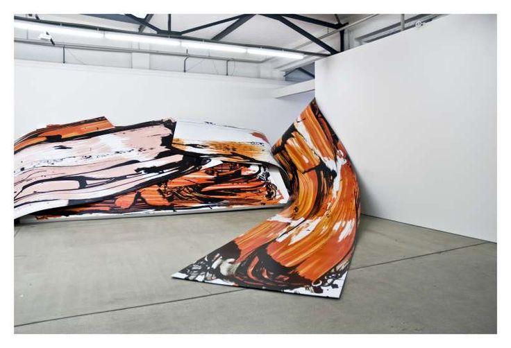 Judy Millar installation