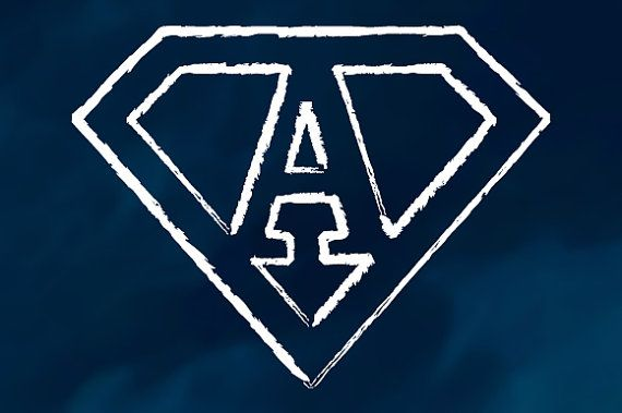 26 scribble letters in the Superman logo style  2 color version available (black, white)  Transparent png files at 5000x5000 pixels and 96 dpi  Vector source files: ai and eps cs4, layered