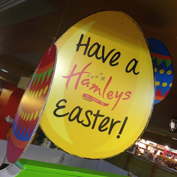 Have a Hamleys #Easter at @Hamleys - The Finest Toy Shop in the World . #RegentStreet