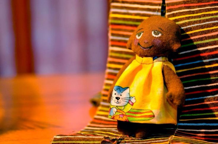 A sunny personality. One of the first Tiny Friend dolls.