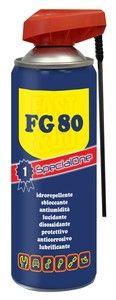 SPRAY SBLOCCANTE LUBRIFICANTE PROFESSIONALE FG 80 ML. 400 http://www.decariashop.it/home/15503-spray-sbloccante-lubrificante-professionale-fg-80-ml-400.html
