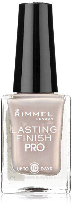 Rimmel Lasting Finish Pro Nail Enamel Crushed Pearl Review