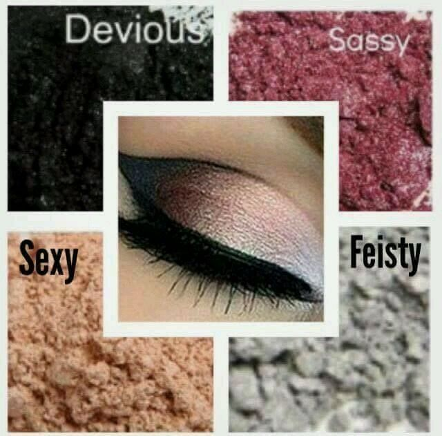 Touch mineral eye pigments X