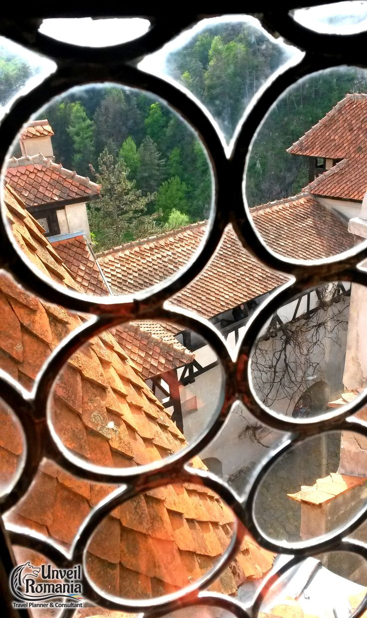 Remove the glass and the bats can get in through these smile emoticon Vampires anyone? #DraculaCastle #Bran #Transylvania #Romania