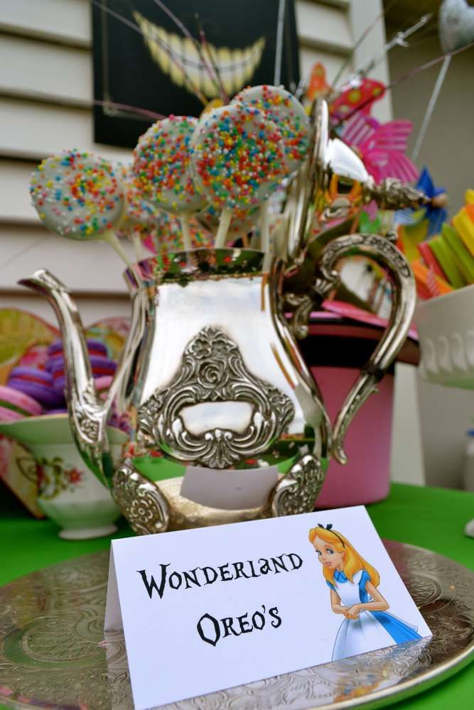 Alice in Wonderland / Mad Hatter Birthday Party Ideas   Photo 1 of 20   Catch My Party