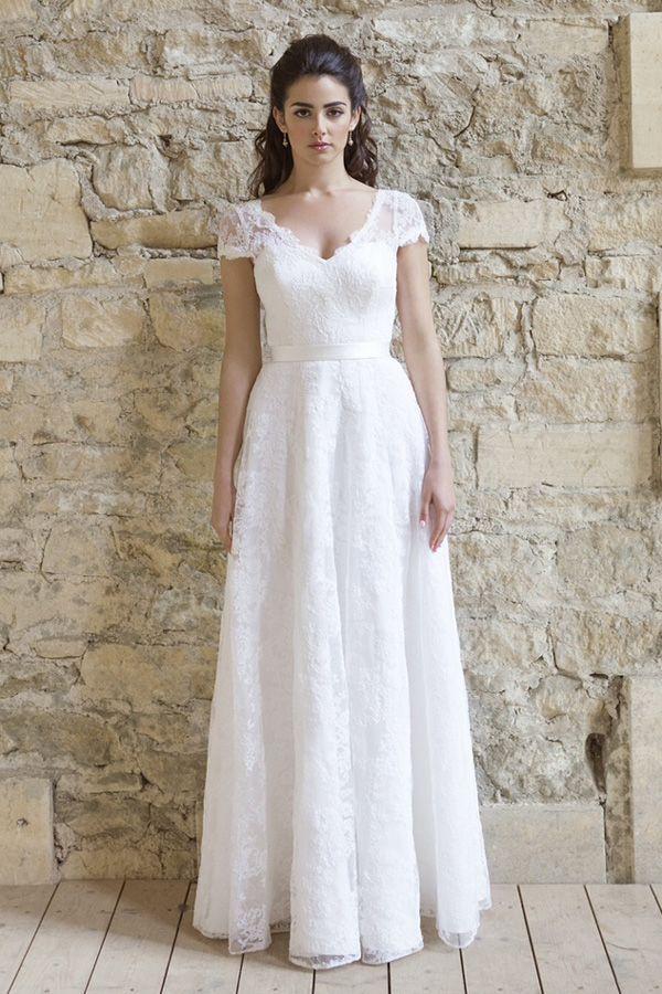 Blush Pink Wedding Dress by Johanna Hehir, www